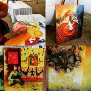 Creativity at its best during Rang De-2016